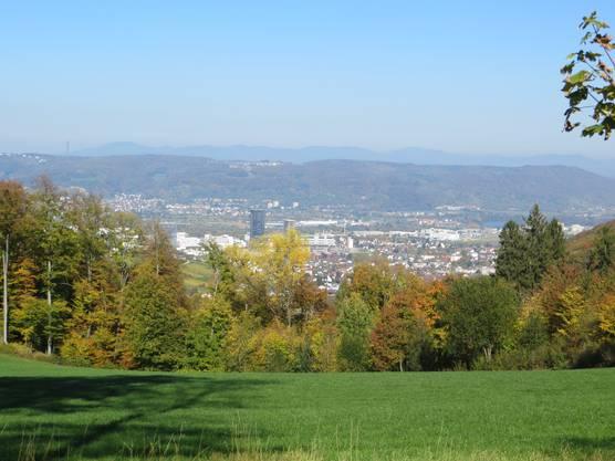 Pratteln, Rührberg (Südbaden) und Chrischona ( Kanton Basel-Stadt)