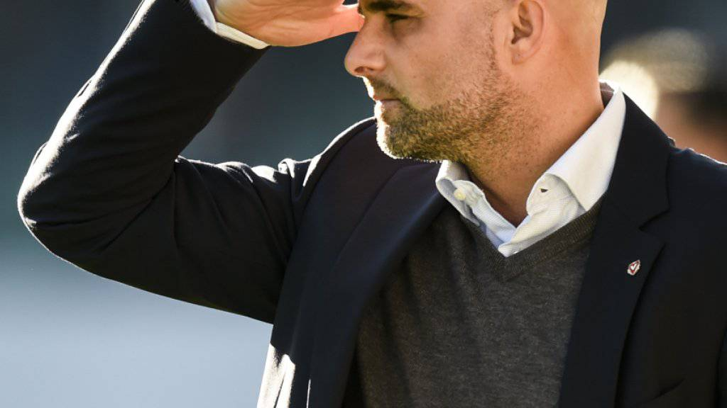 Der Vaduzer Trainer Giorgio Contini blickt dem Spiel gegen den entrückten Leader Basel entgegen