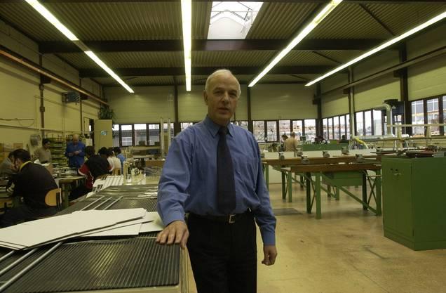 Peter Kürsener, der erste Geschäftsführer