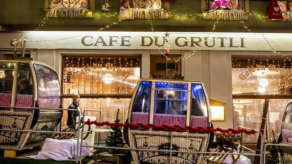 Restaurants schliessen abends - Feiern bis zehn Personen möglich