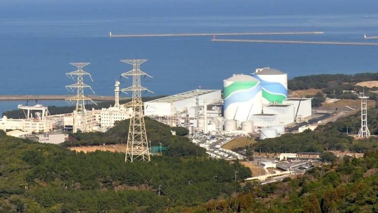 Die Sendai AKW-Anlage im Südwesten Japans