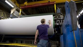 In der Papierfabrik Utzenstorf wird kein Papier mehr hergestellt. (Archiv)