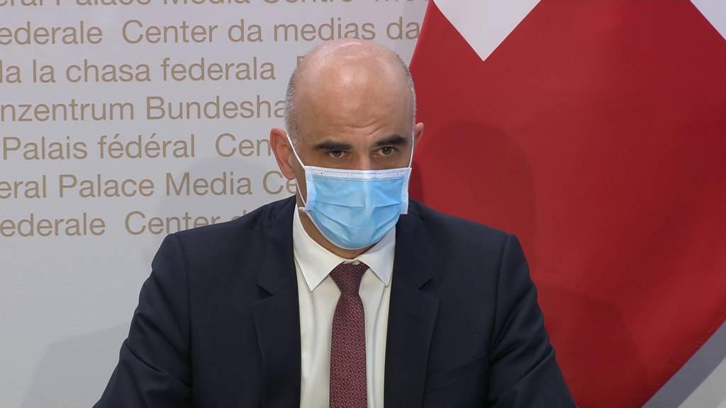 Vorsichtige Öffnung geplant und die Kosten der Pandemie: Die Pressekonferenz des Bundesrates