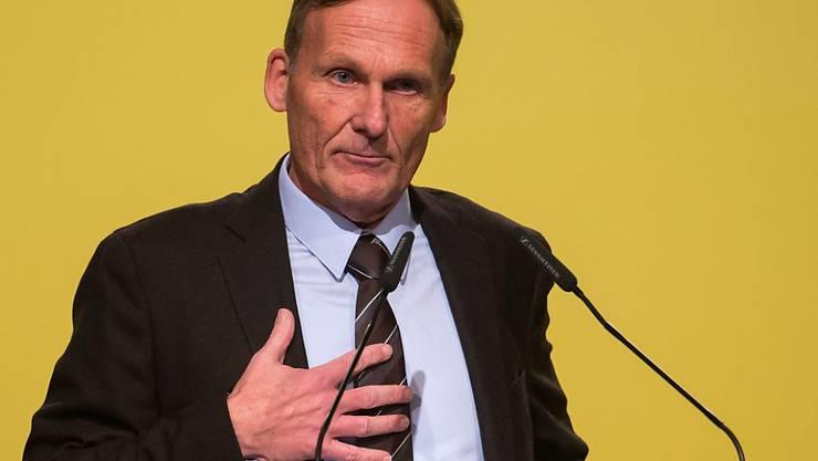 Hans-Joachim Watzke präsentiert einen Vorschlag, wie grosse Turniere in Zukunft vergeben werden sollen