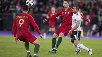 Ronaldo gegen Salah