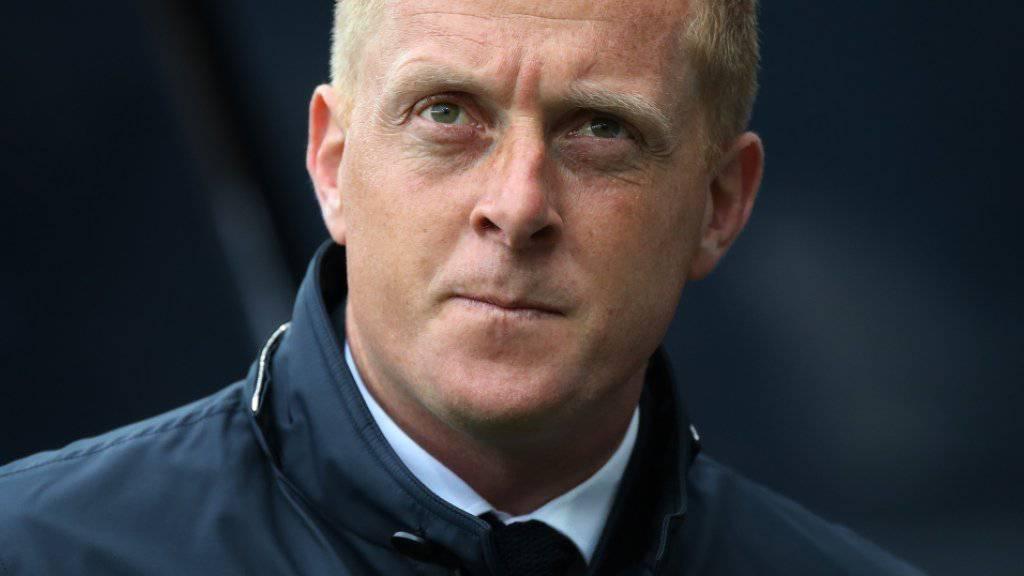 Garry Monk ist seinen Trainer-Job bei Swansea los