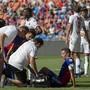 Captain Marek Suchy bereitet dem medizinischen Staff des FC Basel Sorgen