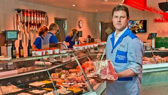 Markus Sandmeier, Inhaber von Sandmeier Fleisch und Feinkost, in Kölliken.