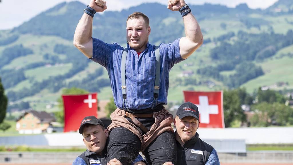 Spitzenpaarungen Luzerner Kantonalschwingfest