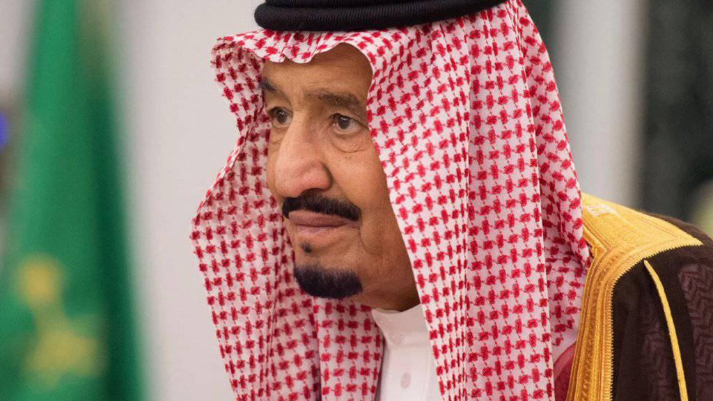 Aussagen zum libanesischen Regierungschef: Der saudi-arabische König Salman zieht Meldungen zufolge seinen Botschafter aus Berlin ab. (Archivbild)