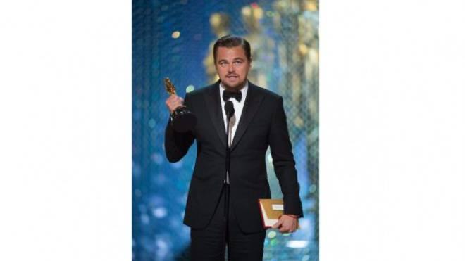Leonardo DiCaprio, 2016: «Der Klimawandel ist Realität, und er passiert jetzt.» Der Oscar-Gewinner sprach sich gegen eine «Politik der Gier» aus.