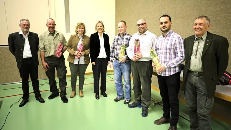 Generalversammlung des Hegerings Olten-Gösgen-Gäu mit Regierungsrätin Brigit Wyss.