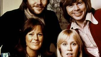 Die Band ABBA 1974 (Archiv)