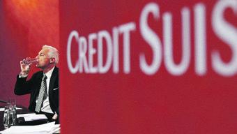 Credit-Suisse-Verwaltungsratspräsident Urs Rohner an einer Finanzveranstaltung in Bern im Mai 2014. Philipp SchmidliGetty Images