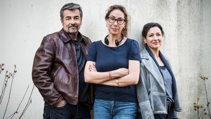 Stefan Gubser, Katalin Gödrös und Delia Mayer