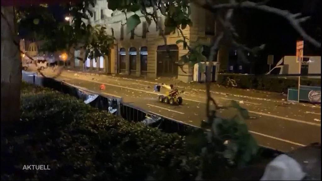 Bombenalarm an der Street Parade: Attrappen sichergestellt