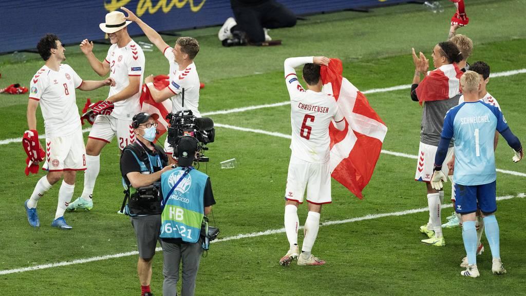 Dänemark siegt gegen Wales souverän – und steht im Viertelfinale