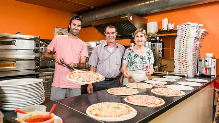 Baden, 8. Juni: Seit bald 15 Jahren führt die Familie Baydar das Imbisslokal «Speedy Food» in Baden – nun suchen sie ihre Nachfolger.