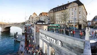 Die Basler Regierung beantragt einen Kredit von 14,4 Millionen Franken für die Planung der S-Bahn-Herzstück-Infrastruktur.