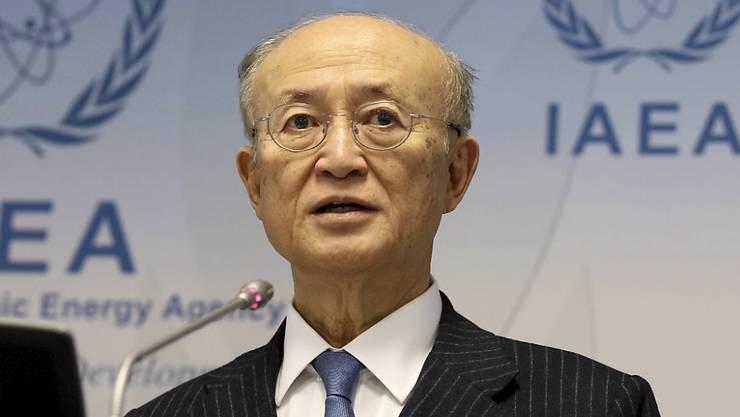 Der Chef der Internationalen Atomenergiebehörde (IAEA) in Wien, Yukiya Amano, ist gestorben. (Archivbild)