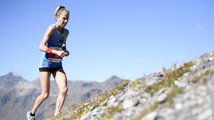 Liegt im neuen Ranking des Weltverbands IAAF der 80 besten Läuferinnen im Moment an 39. Stelle: Martina Strähl.