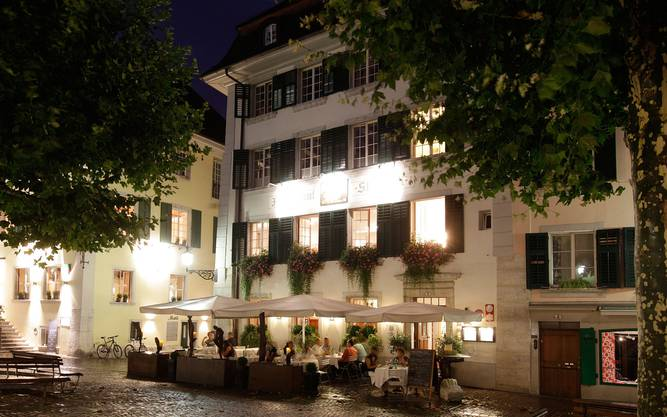Das Restaurant Zum Alten Stephan in Solothurn gehört zu den Aufsteigern. Neu hat es 15 Punkte.