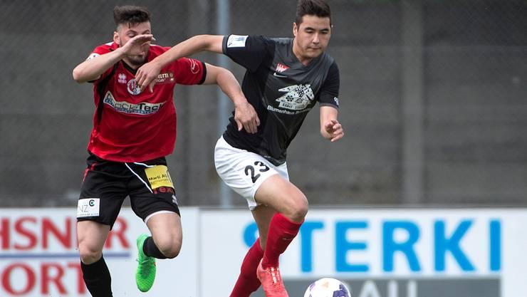 Solothurns jüngster Exportschlager: Berkay Sülüngöz (rechts) wechselt zum FC Basel.