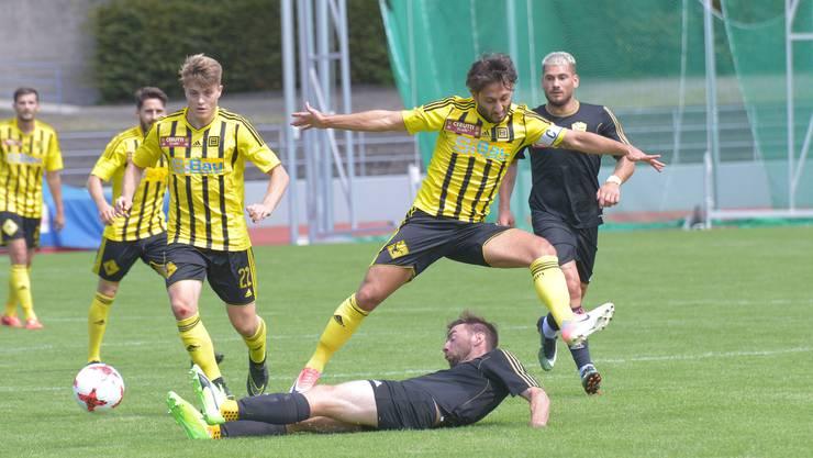 Die Old Boys spielen gegen Breitenrain 1:1. (Archivbild)