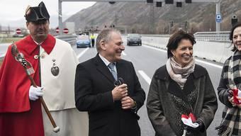 Einweihung Autobahn Doris Leuthard