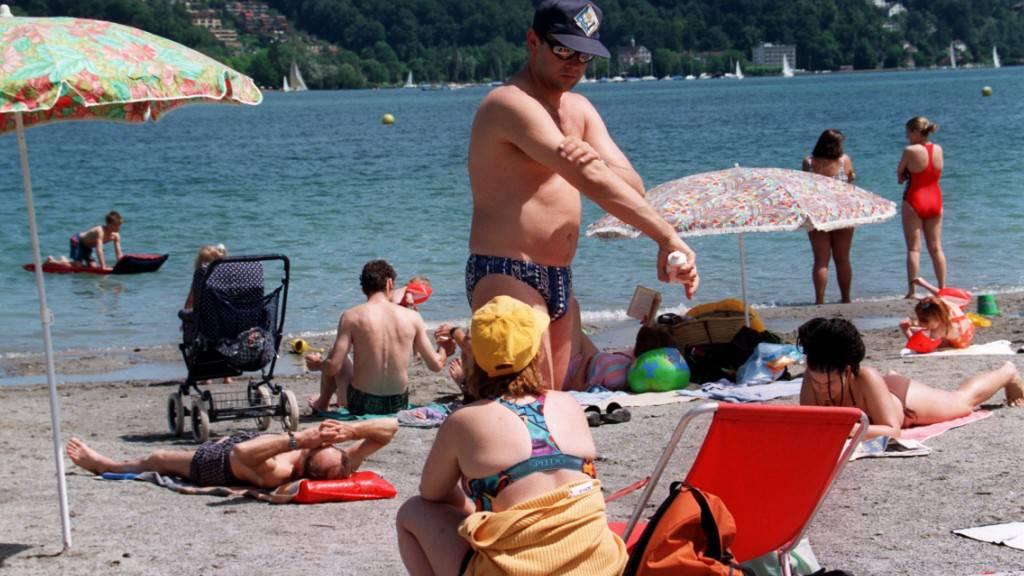 Auf der Aufschütte in Luzern wird es ein neues Verpflegungsangebot geben. (Archivaufnahme)