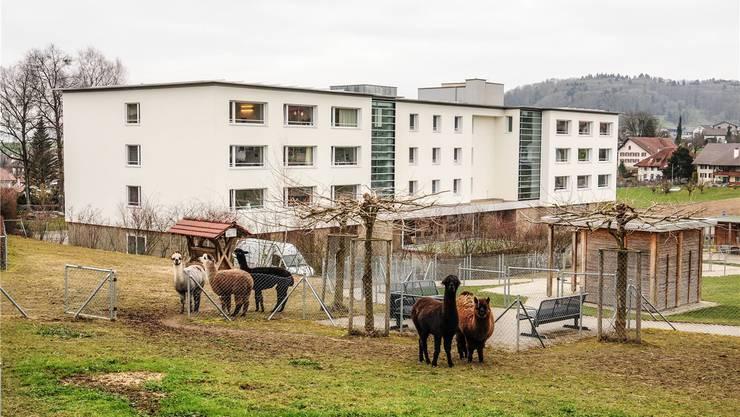 Das Seniorenhuus in Hägglingen feiert Geburtstag und lädt zum Tag der offenen Tür. az-Archiv toni Widmer