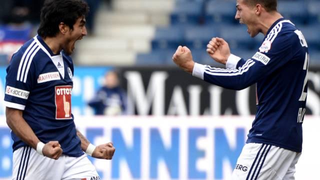 Lezcano (links) und Freuler prägten das Luzerner Spiel. Der Stürmer ist schon weg, der Mittelfeldspieler soll es auch bald sein.