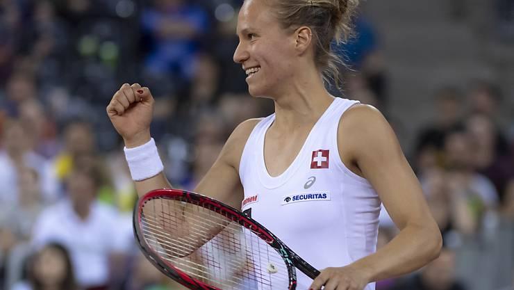 Viktorija Golubic schaffte am French Open in Paris den Sprung ins Haupttableau