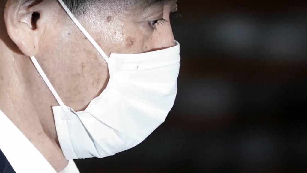 Japan vor Wahl von Suga zum neuen Regierungschef