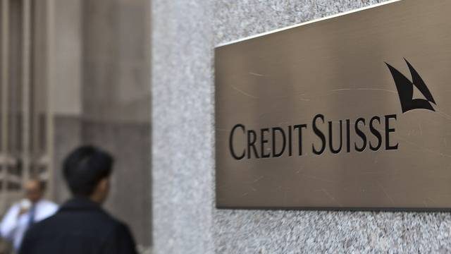 Credit-Suisse-Filiale in New York (Archiv)
