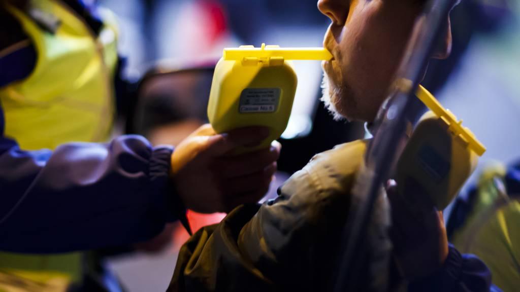 Luzerner Polizei stoppt betrunkenen Autofahrer