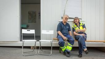 Samariter im Aargau, hier an der Badenfahrt, kritisieren die neue Zertifizierung durch den Interverband für Rettungswesen.