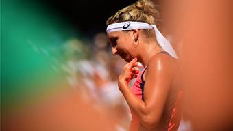Auch im zweiten Anlauf verpasst Timea Bacsinszky den French-Open-Final.keystone