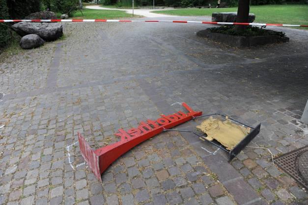 Unfall am Kinderfest in Schlieren