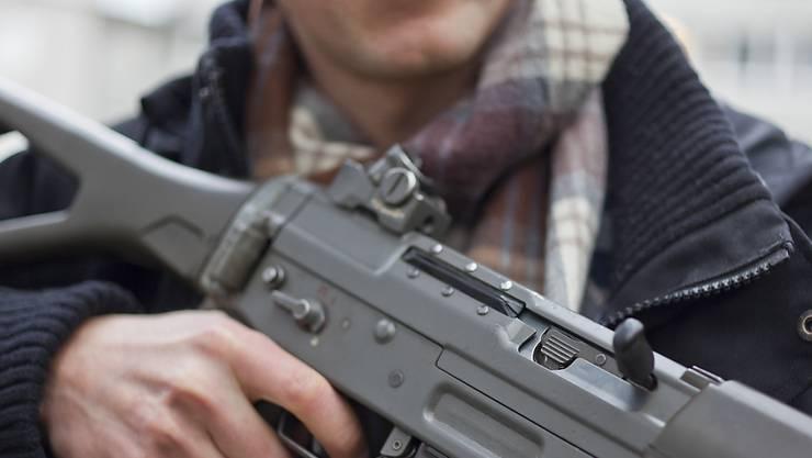 Im Aargau werden im Schnitt mehr Waffen gekauft als im Rest der Schweiz. (Symbolbild)