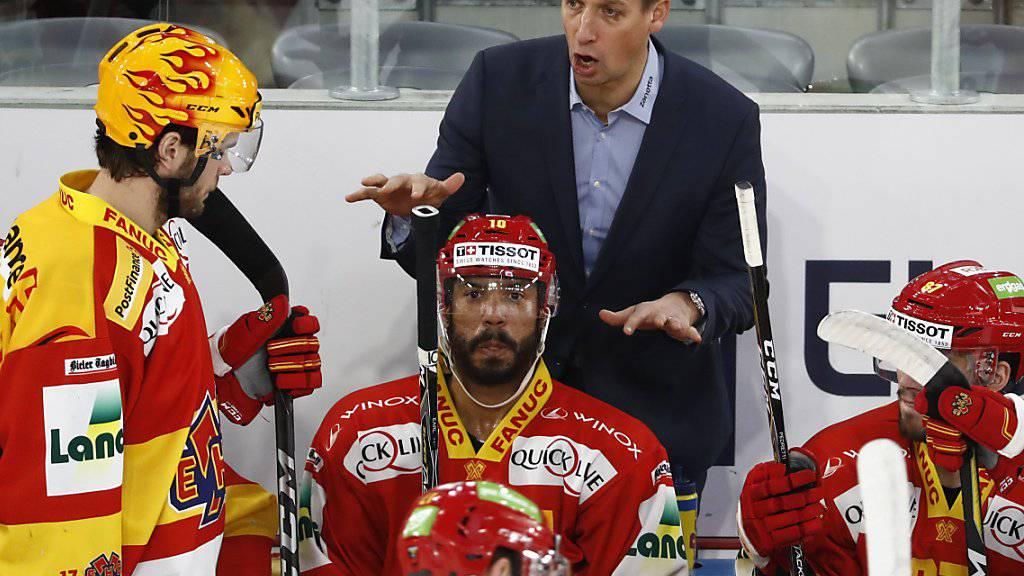 Antti Törmänen feierte mit Biel einen weiteren Sieg