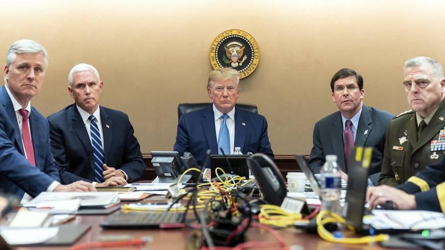 War das Foto von Trump im Situation Room gestellt?