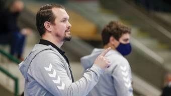 Nichts weniger als zwei Punkte, das erwartet Misha Kaufmann von seinen Spielern gegen den RTV Basel.