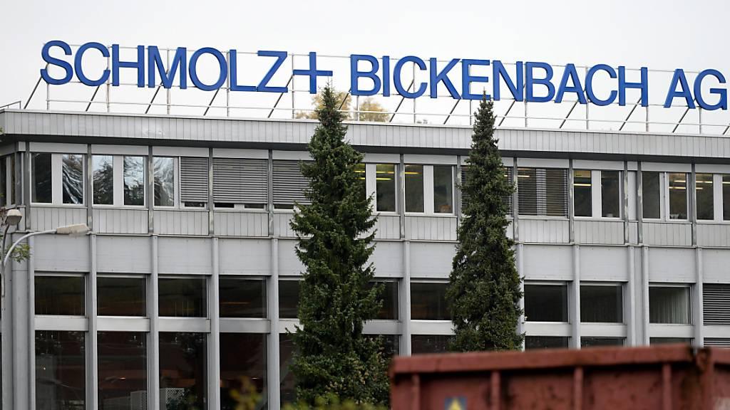Luzerner Stahlkonzern Schmolz + Bickenbach mit Riesenverlust
