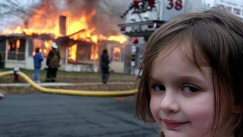 Disaster-Girl-Meme für eine halbe Million Dollar verkauft