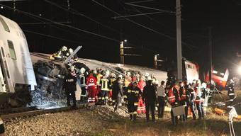 Zugunglück in Kritzendorf, Österreich (22.12.2017)