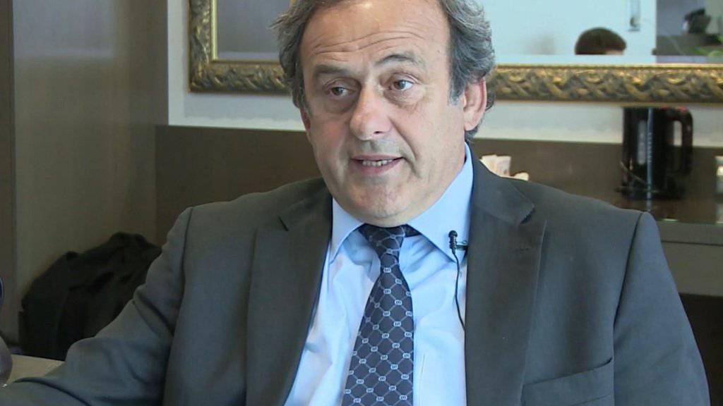 Michel Platini wehrt sich weiter gegen die Sperre