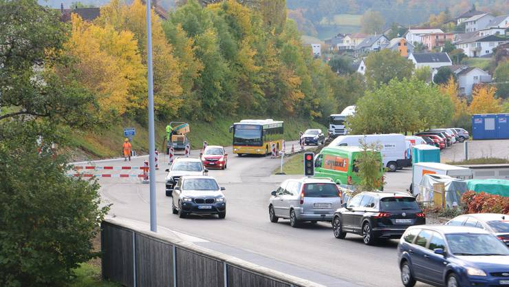 Am Knoten Herznach/Ueken steht die letzte Etappe bevor.