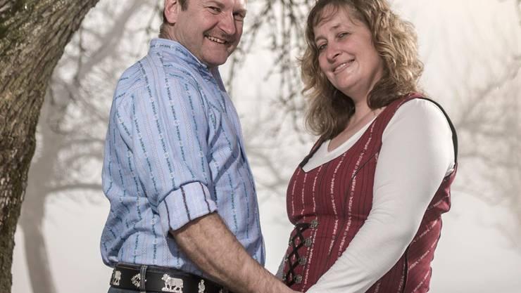 Erich Häfliger hat mit Christina Suter sein privates Glück gefunden.