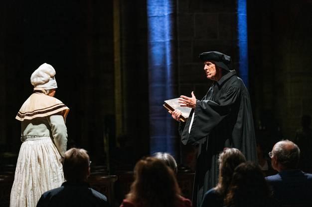 Die Reformation erreicht Basel, 1529.